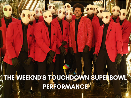 #WKNDWrapUp The Weeknd's Touchdown Performance at The Superbowl