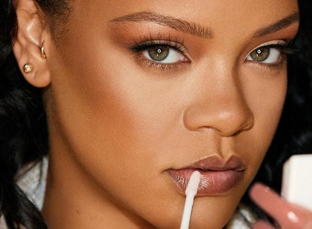 Rihanna is in her beauty bag. New FENTY SKIN registry