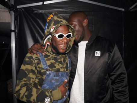 Stormzy and Burna Boy Perform at the 2020 BRITS Awards