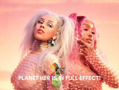 #NewMusicFridays SZA & Doja Cat - Kiss Me More Show Cases Planet Her is in Full Effect