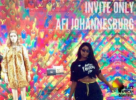 INVITE ONLY AFI Johannesburg