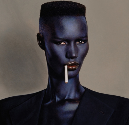 From her legendary. photos with Jean-Paul Goude to her electrifying music Grace Jones will be on stage July 8th.