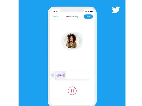 Twitter Introduces New Voice Feature