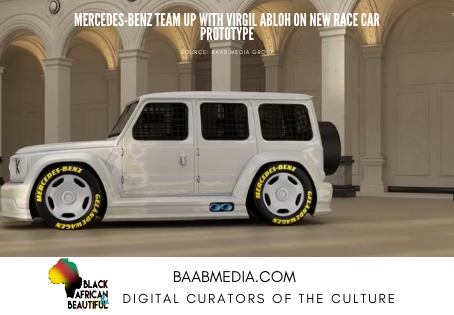 Mercedes-Benz Teamed Up with Virgil-Abloh for a Redesigned G-Wagon Race Car Concept
