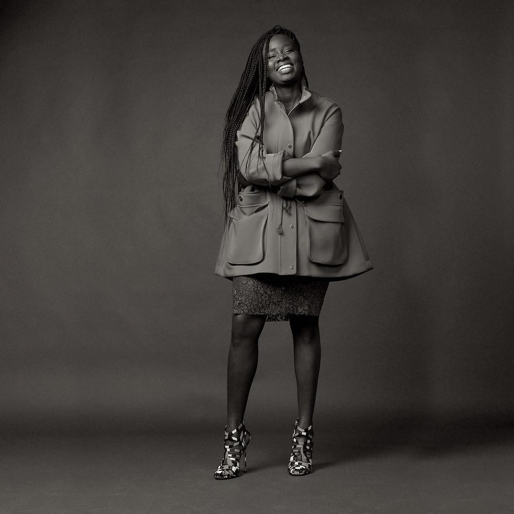 Senegalese designer Sarah Diouf
