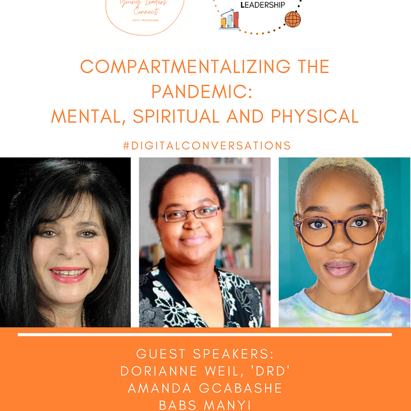 Compartmentalizing The Pandemic: Mental, Physical, Spiritual