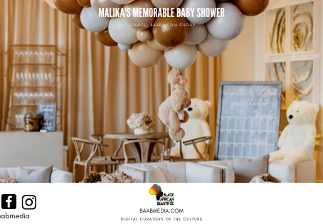 Malika's Teddy Bear Themed Baby Shower That We're Still Not Over