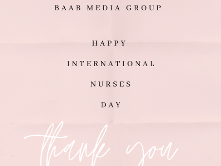 Happy International Nurses Day: We Salute All Frontliners During COVID-19