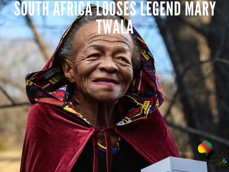 #WKNDWrapUp RIP Mary Twala, South Africa Looses A Legend