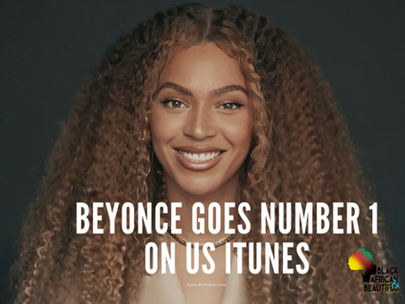 Beyonce Goes #1 on US iTunes Chart for BLACK PARADE
