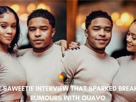 The Saweetie Interview That Sparked Breakup Rumours with Quavo