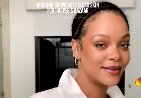 Watch: Rihanna Showcases earth-conscious FENTY SKIN for Harper's Bazaar