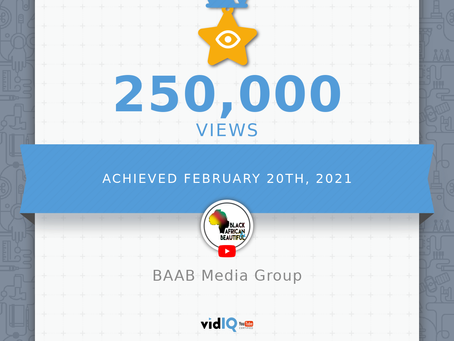 BAAB Media Group Reaches Over 250 000 views on YouTube