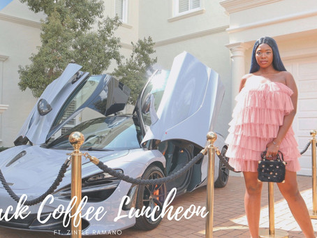 Black Coffee Luncheon ft. Zintle Ramano