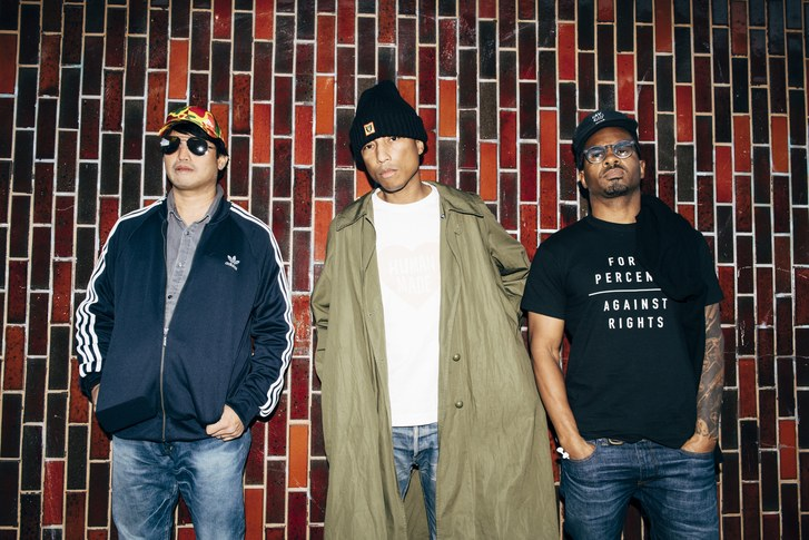 N.E.R.D will be playing on Friday, 06 July in the Auditorium Stravinski