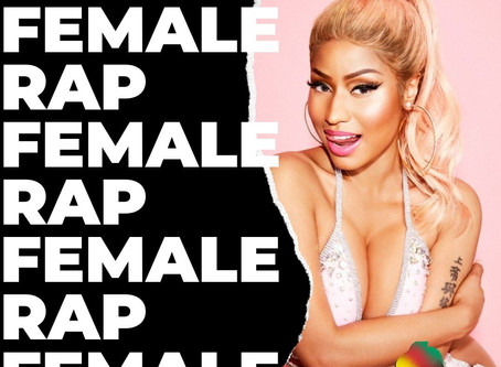 Nicki Minaj, Major Lazer and Mr. Eazi with Oh My Gawd entry in BAAB FM's female rap playlist