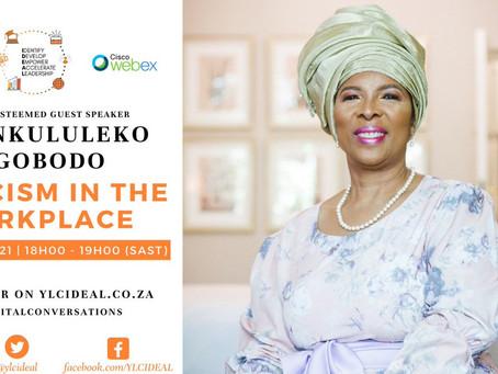 Speaker Announcement: Ms. Nonkululeko Gobodo South Africa's 1st Black Female Chartered Accountant