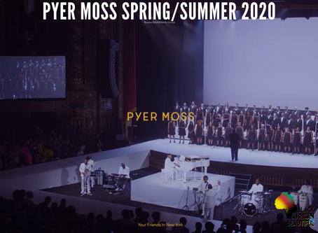 Fashion Revisits: PYER MOSS SS20