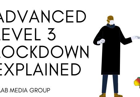 Advanced Level 3 Lockdown Explained