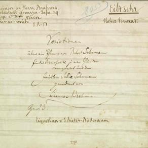 ブラームス: シューマンの主題による変奏曲 作品23