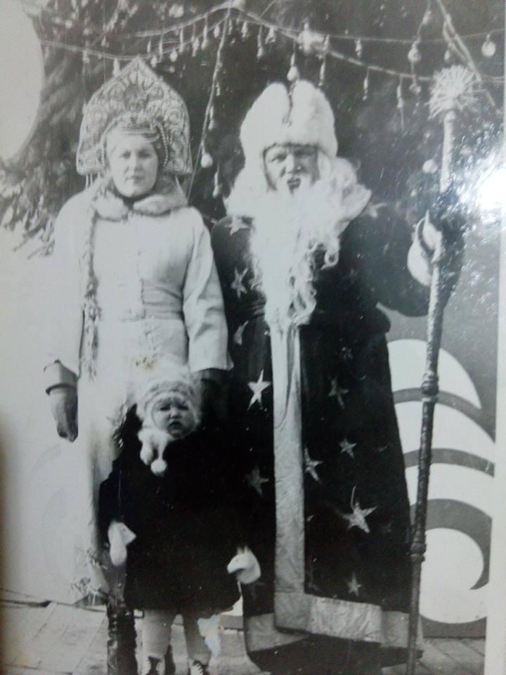 Yael Lavi, 1981, בריה_מ. אני מצולמת למרגלות סניגורצ'קה, שהייתי שיכורה