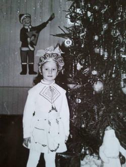 Oksana Abramov-Minchin, 1988, אוזבקיסטן. אני בתמונה, שנתיים לפני עלייתנו ארצה