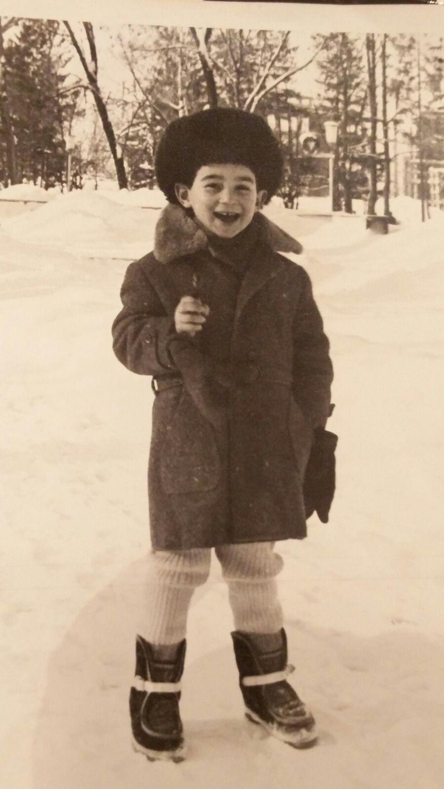 Beri Rozenberg, 1986-1988, לטביה, בריה_מ. אני בפארק העירוני