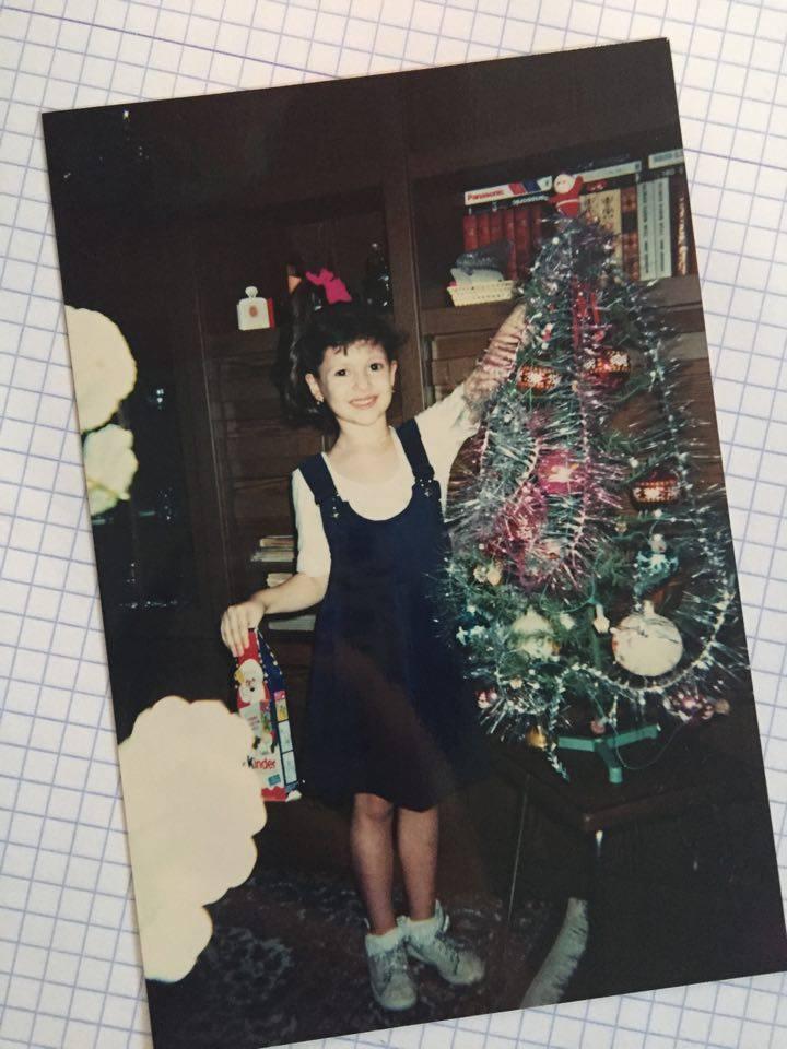 סבינה ריבקובסקי, 1999. אני מצולמת בגיל 6