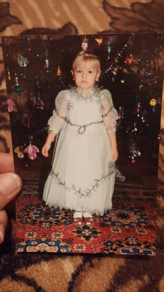 Marta Mialo, 1997, בריהמ. אני בגיל 5