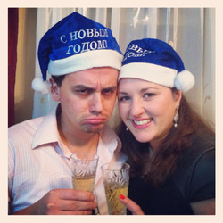 Ariel Eitan,2015, ישראל. מצולם עם אשתי, היא אוקראינית-לאחר 3 שנות נישואים אני מתחיל להתאקלם