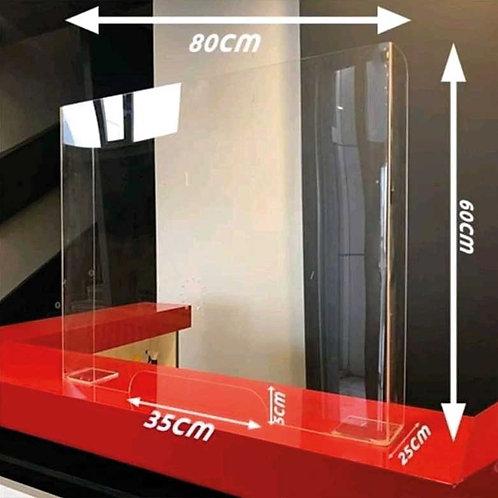 Panou protectie din plexiglas transparent 600x800 Kopyası