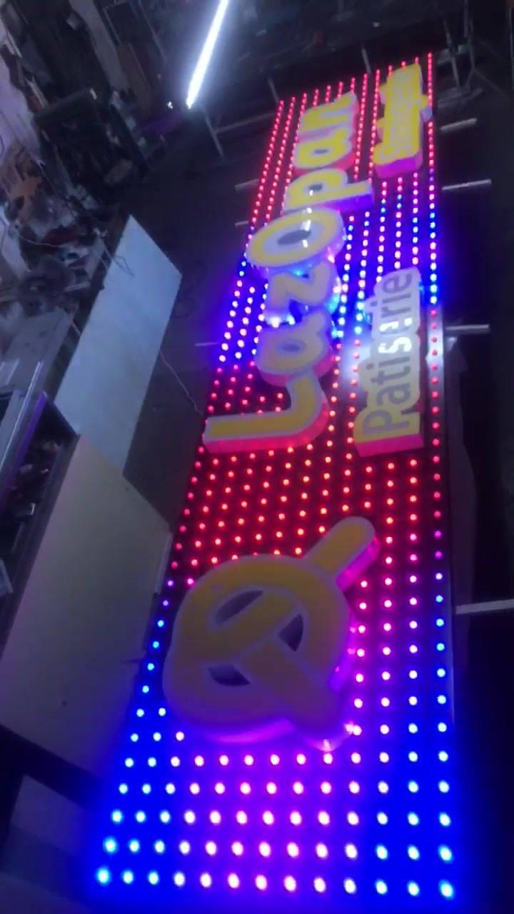Pixel Led primul proiect in Romania