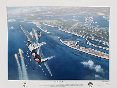 F-15 Signed Artwork