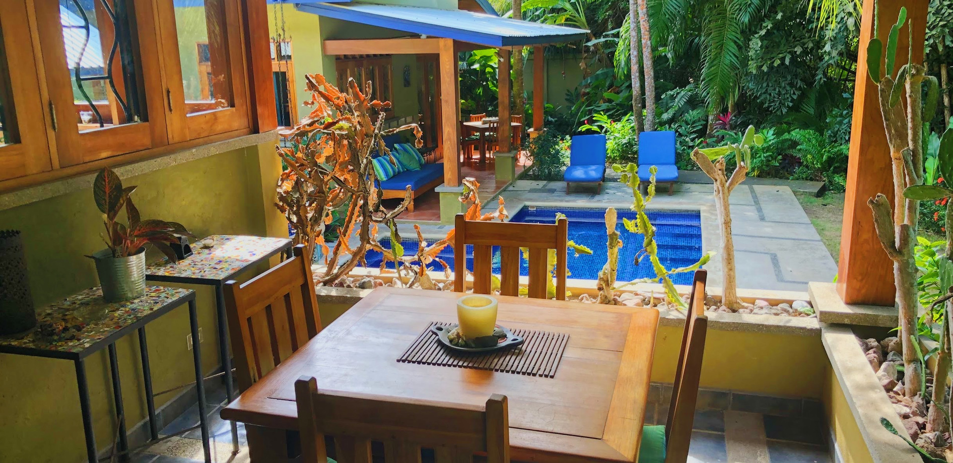 Main Villa Outside Sitting Area
