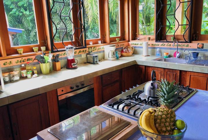 Main Villa Kitchen Area