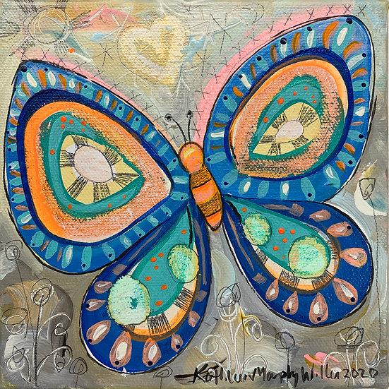 """""""Butterfly B""""   6 x 6"""