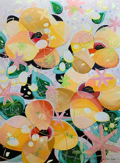 """Yellow Painting"" 60x45"