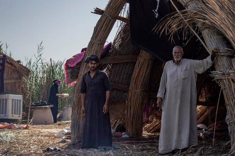 """Bnwar Abdulrahman – """"Pietų Irako pelkynų gyventojų namuose"""" (Irakas, 2020 m.)"""
