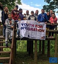 Pabėgėlių integravimas per darbą su jaunimu