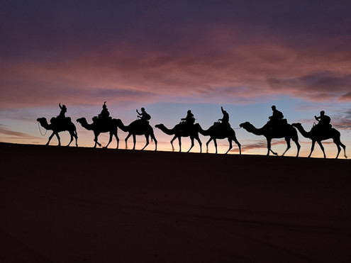 "Nijolė Nagurnaitė – ""An evening in the Sahara Desert"" (Morocco, 2019)"