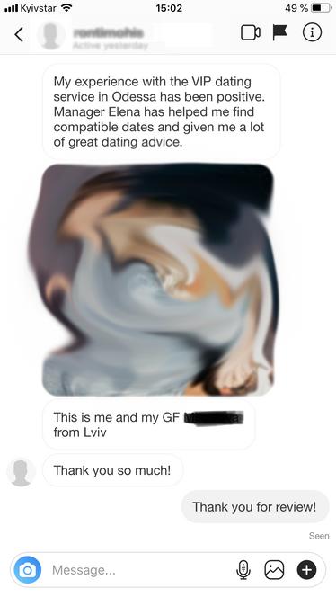 dating service Odessa