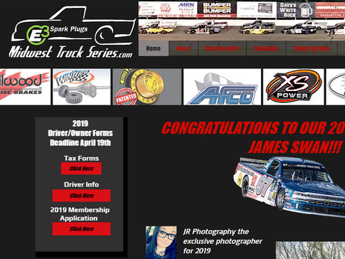 2019 Midwest Truck Series Forms