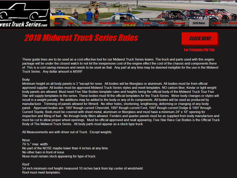 2018 Rules Have Been Released.