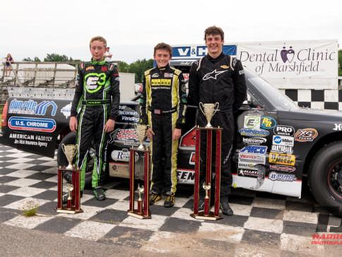 Marshfield Motor Speedway Race Results 6/9/18