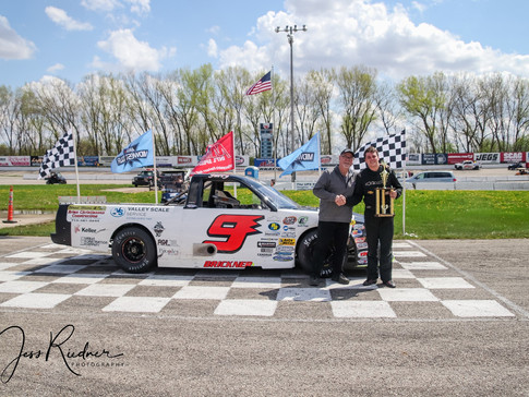 Jerry Brickner Tops the Midwest Truck Field at Madison