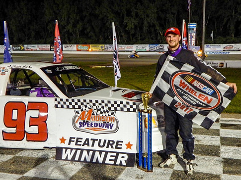 Ace Back In Victory Lane At MIS