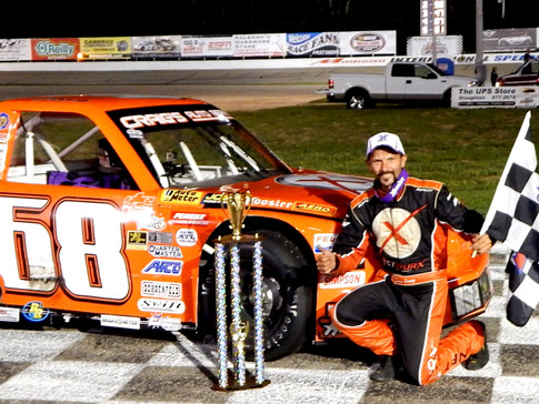 JUNG HOLDS OFF EDWARDS FOR FIRST MIDWEST TRUCK SERIES WIN