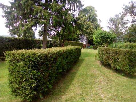 accès au jardins