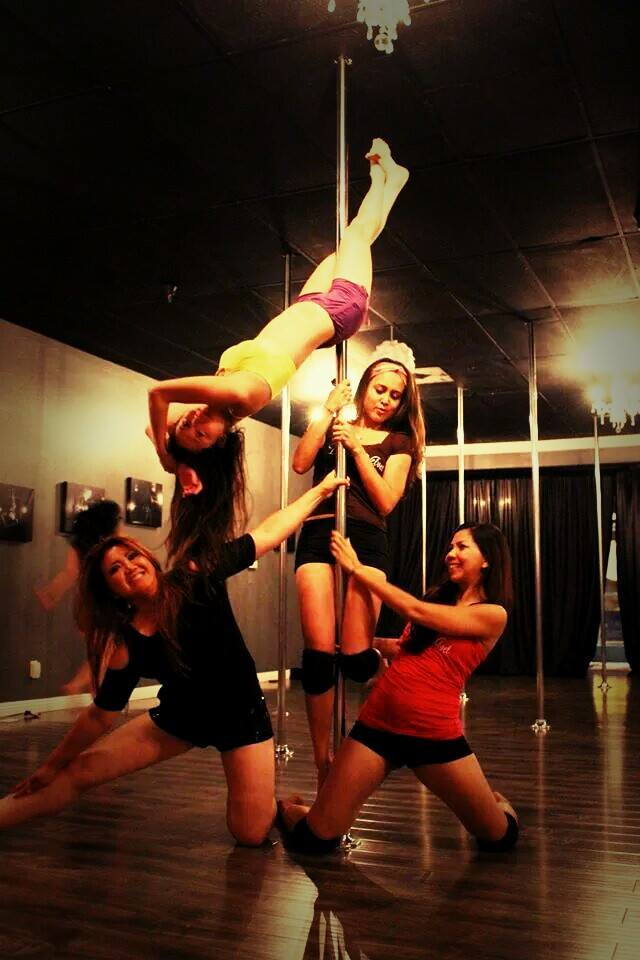 Birthday pole party
