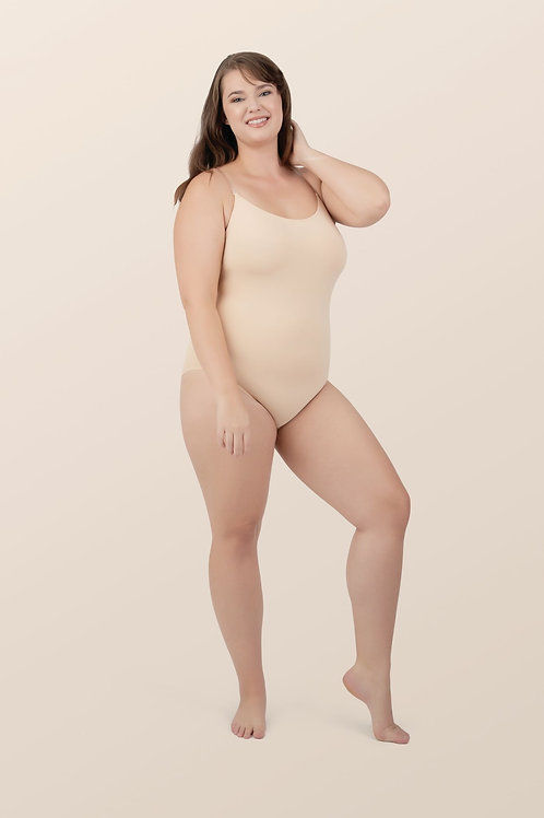 Seamless Camisole Leotard with Transition Straps